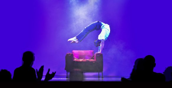 Handstand-Akrobatik